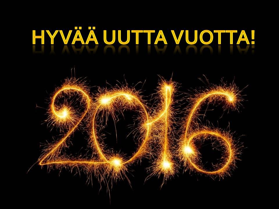 Hyvää Uutta Vuotta 2016!